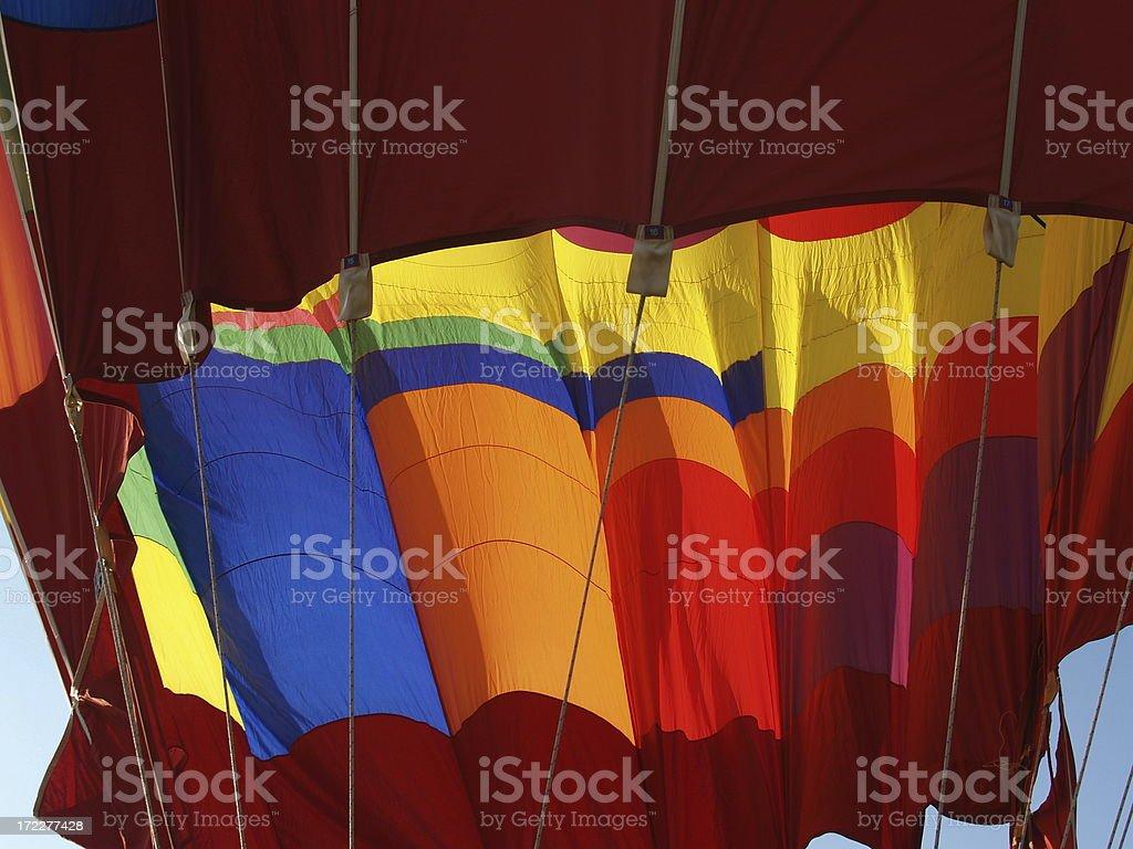 Hot Air Balloon Colors royalty-free stock photo