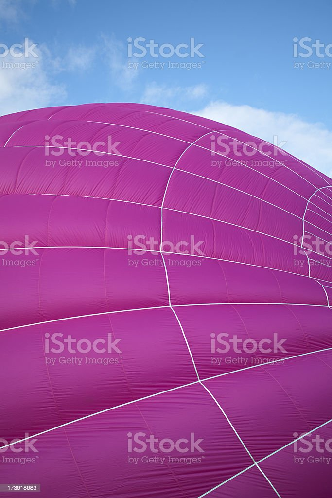 Hot air balloon detail royalty-free stock photo