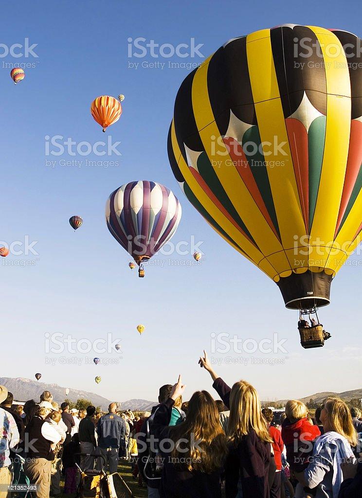 Hot Air Balloon Festival royalty-free stock photo