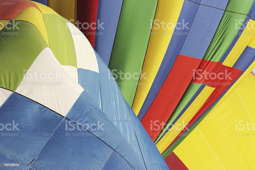 Hot Air Balloon Fiesta Abstract royalty-free stock photo