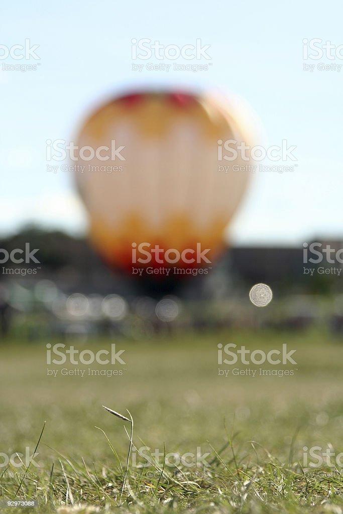 Hot Air Balloon Fiesta in Colorado Springs royalty-free stock photo