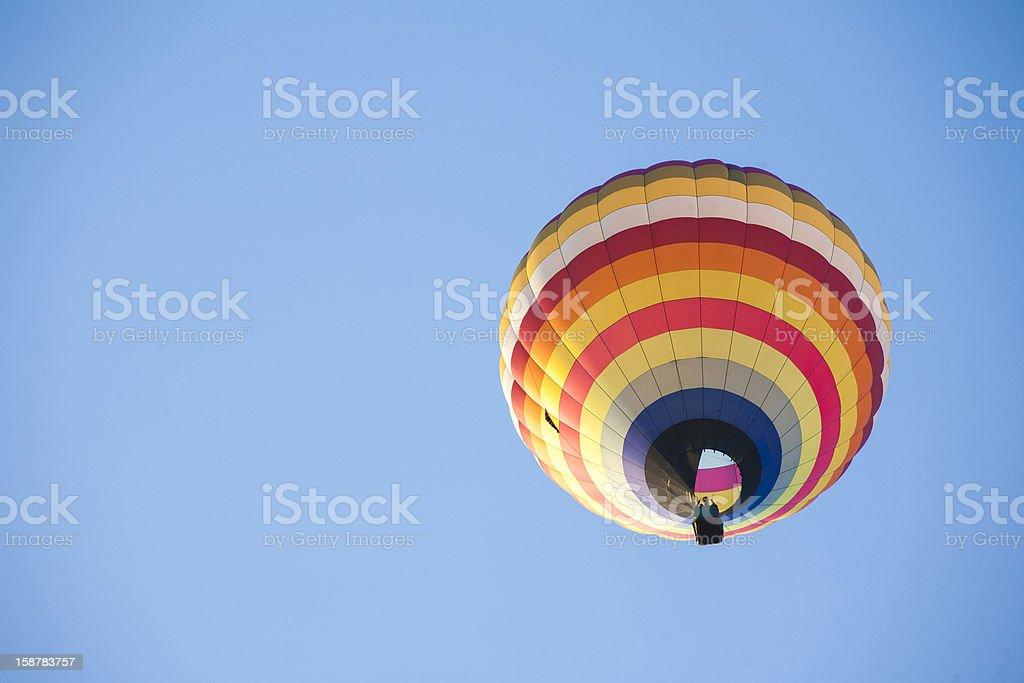 Hot Air Balloon on sky royalty-free stock photo