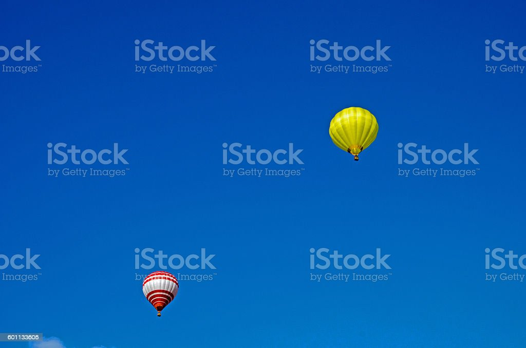 Heissluftballon stock photo