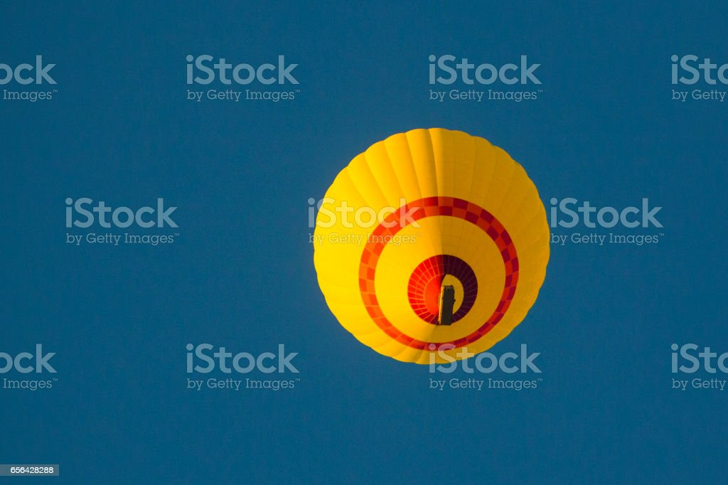 Hot Air Balloon Take Off stock photo