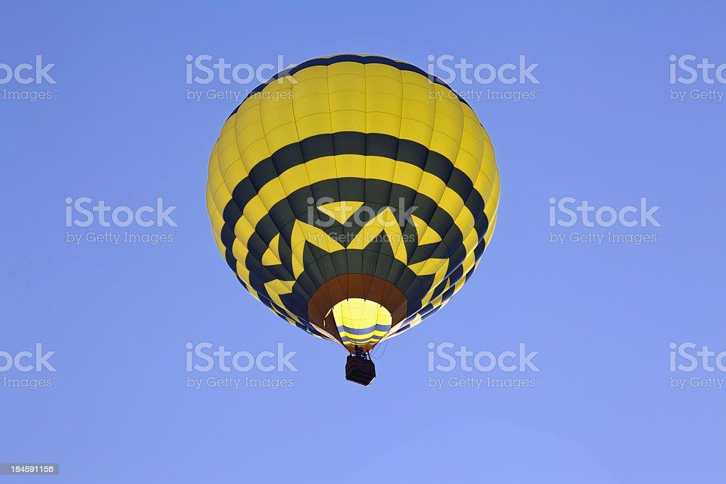 Hot Air Balloon up and away royalty-free stock photo