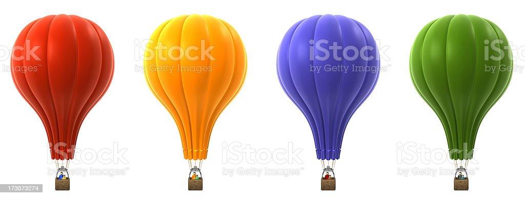 熱気球 ロイヤリティフリーストックフォト