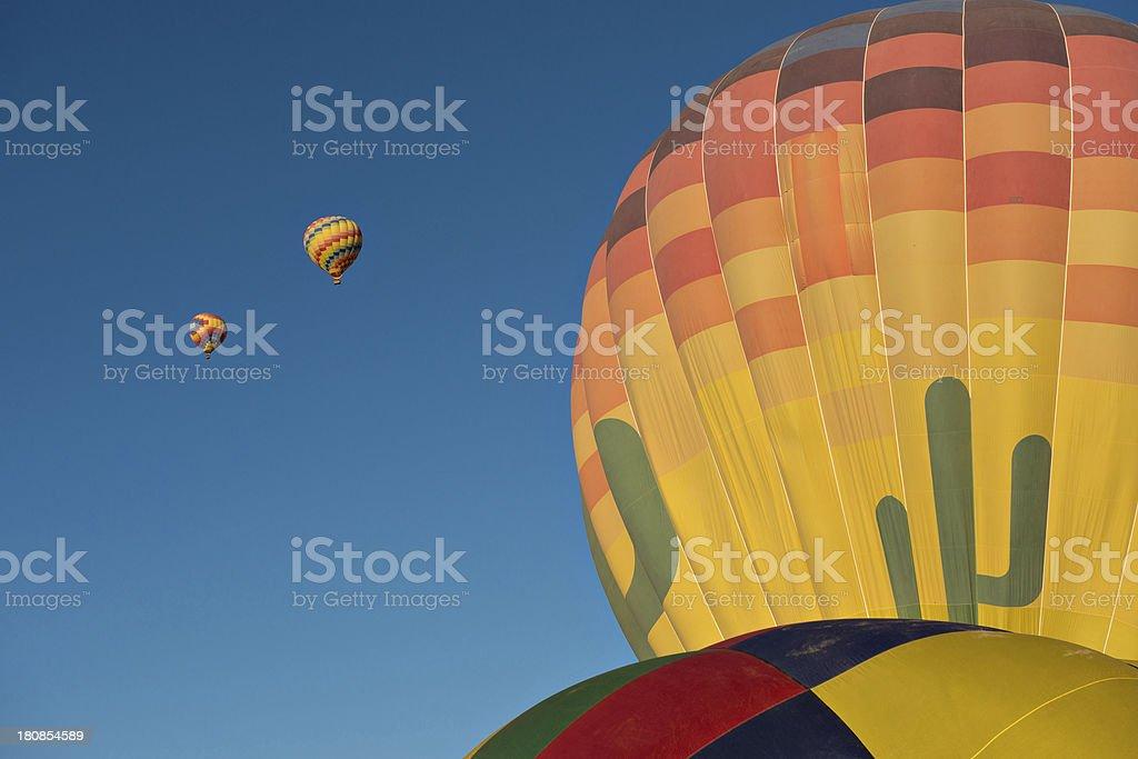 Hot air balloons royalty-free stock photo