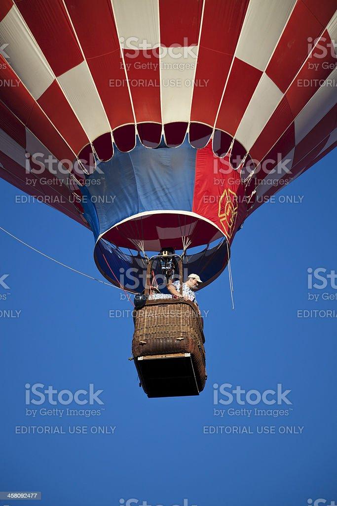 Hot Air Baloon Fiesta royalty-free stock photo