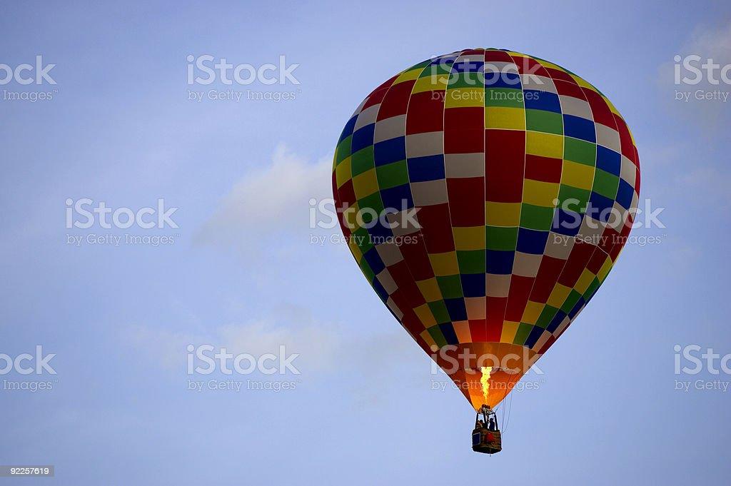hot air baloon royalty-free stock photo