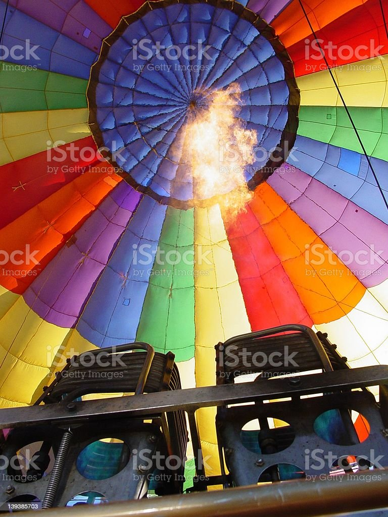 Hot Air royalty-free stock photo