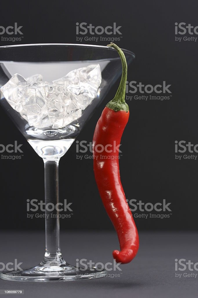 Hot and Cool stock photo
