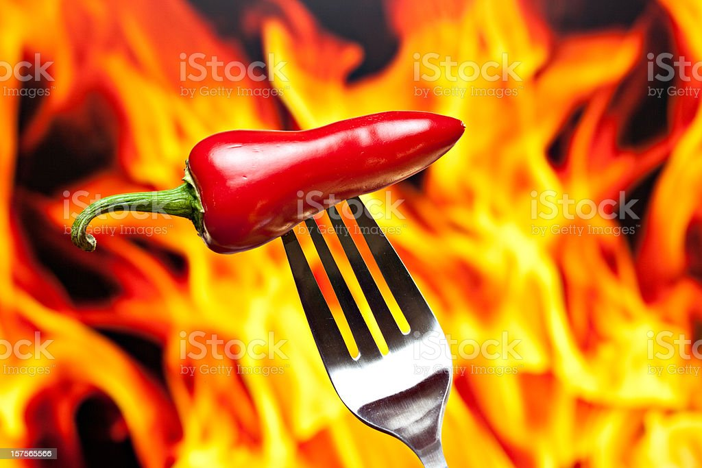 Hot As Hell royalty-free stock photo