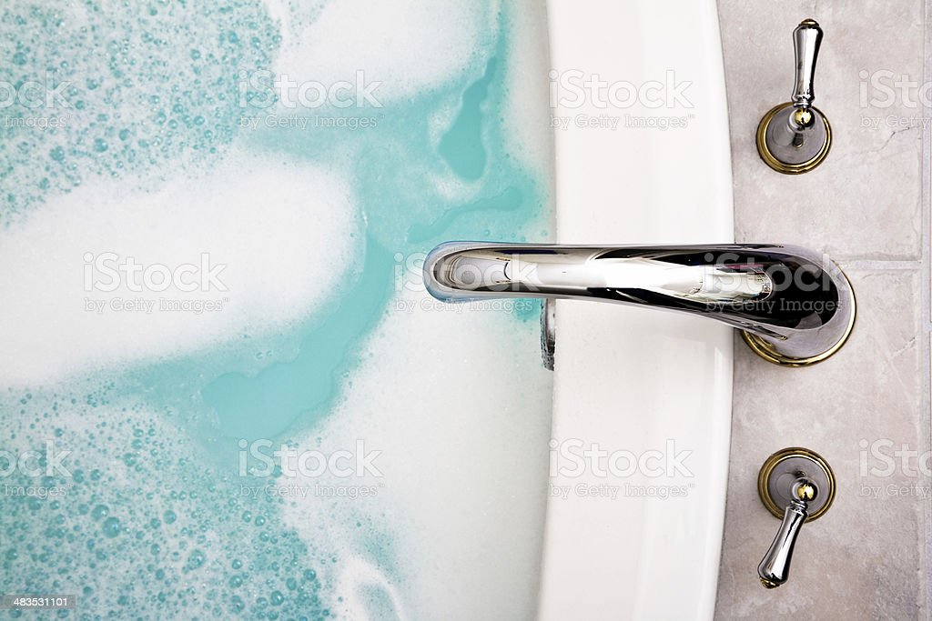 Hot Bath royalty-free stock photo