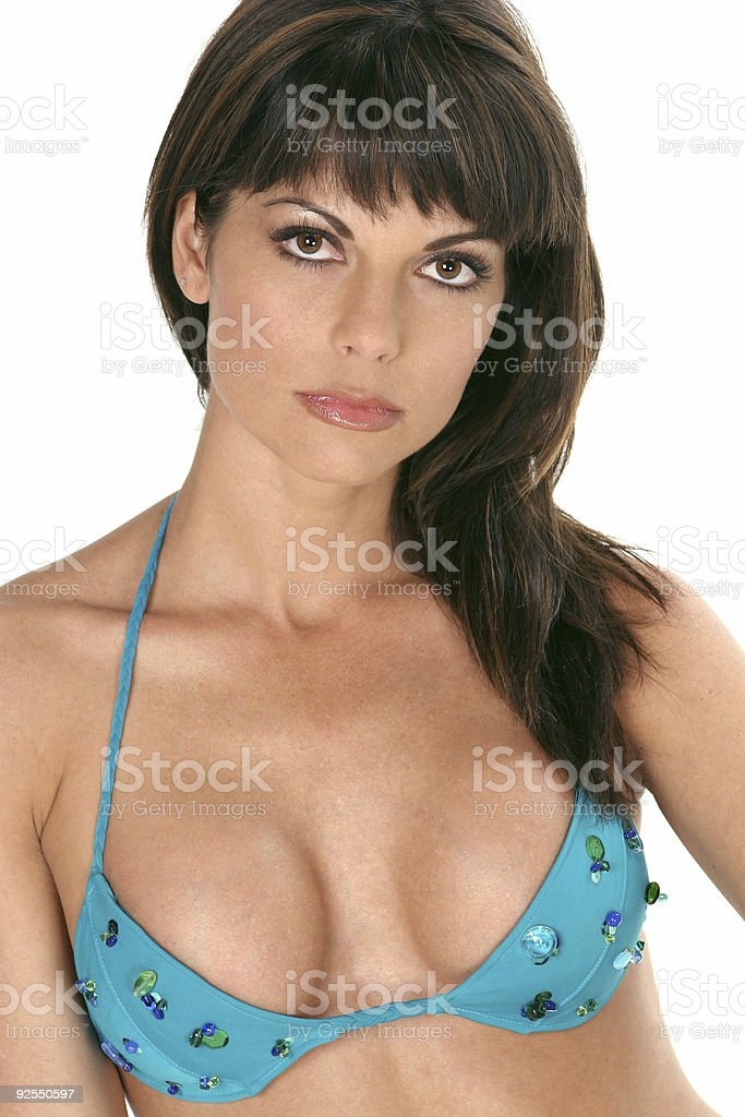 Hot bikini girl royalty-free stock photo