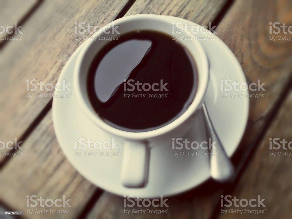 Hot Black Coffee royalty-free stock photo
