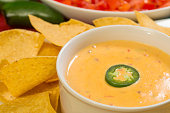 hot bowl of cheese dip