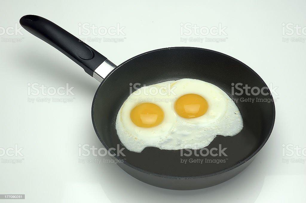 Hot Breakfast royalty-free stock photo