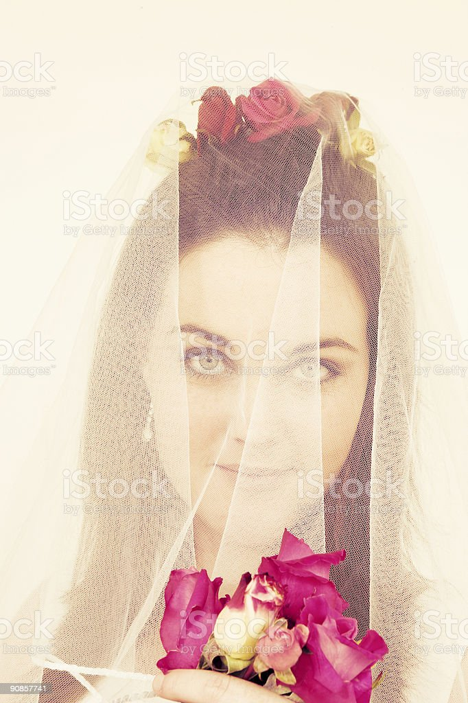 Hot Bride stock photo