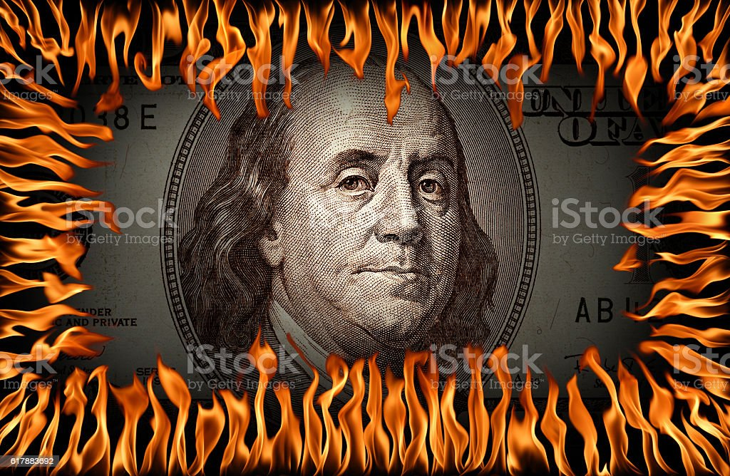 Hot business stock photo