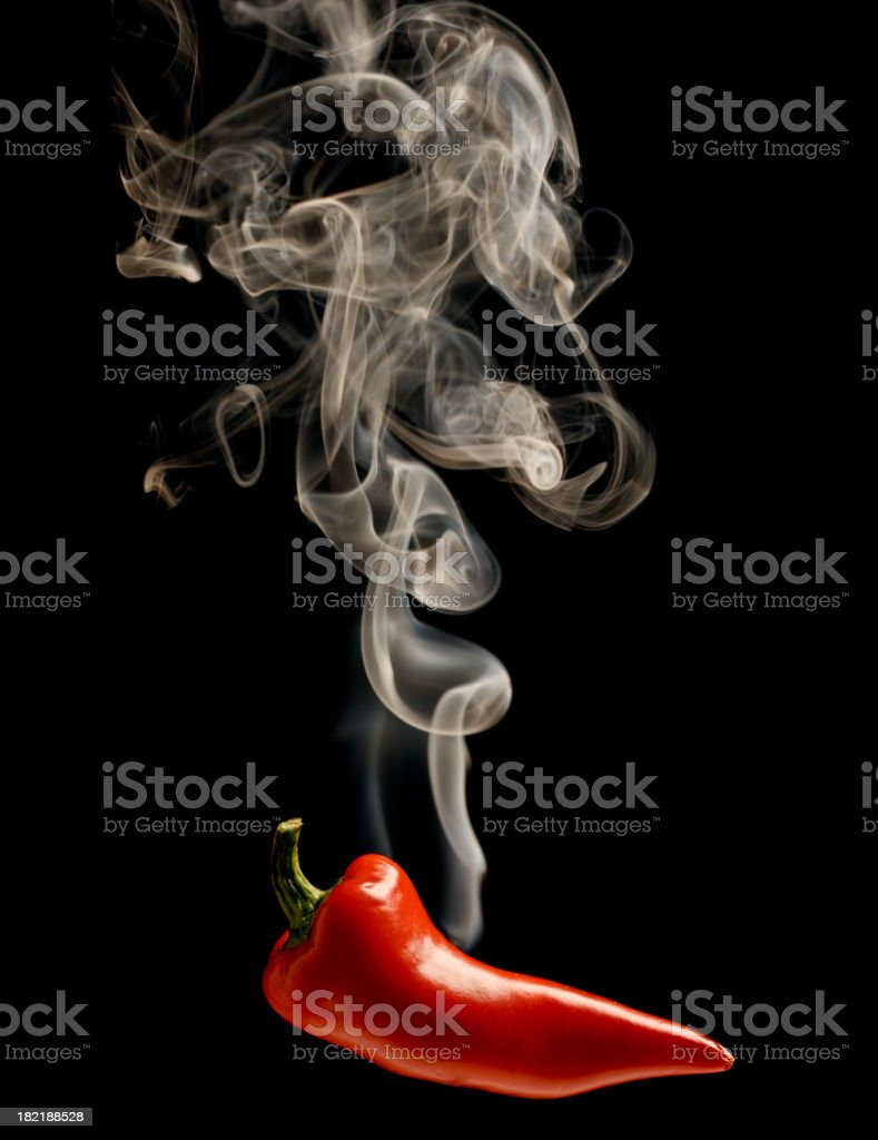 Hot chili pepper royalty-free stock photo