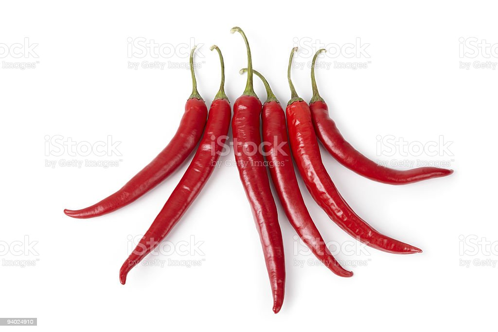 Hot Chili Peppers (XXL) royalty-free stock photo