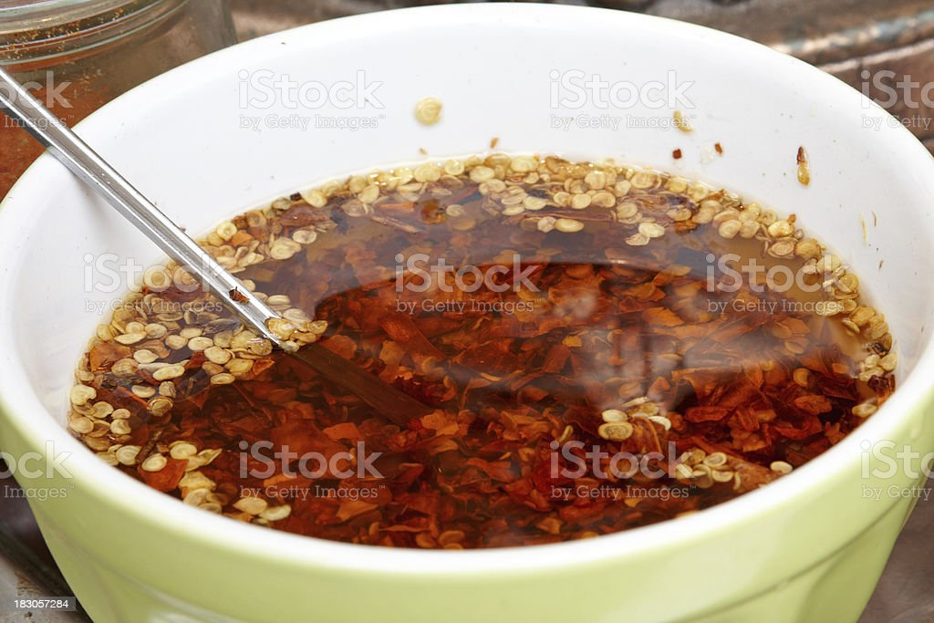 hot chili sauce royalty-free stock photo