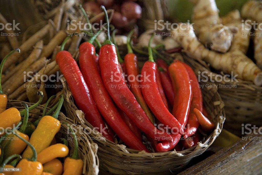 Hot Chilis royalty-free stock photo