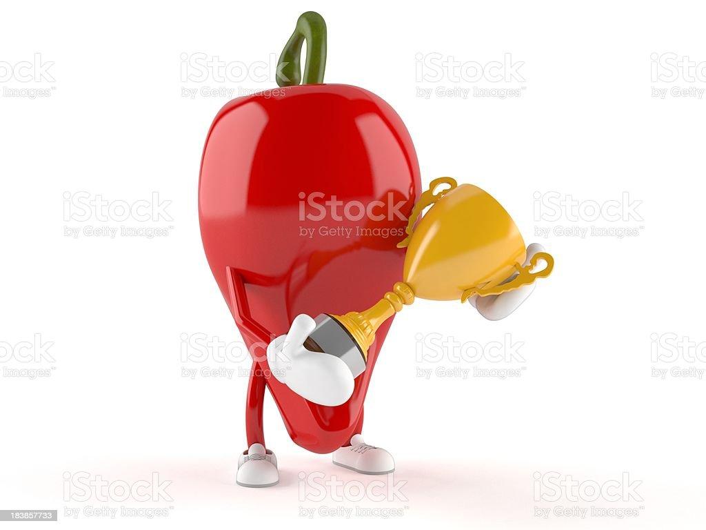 Hot chilli royalty-free stock photo