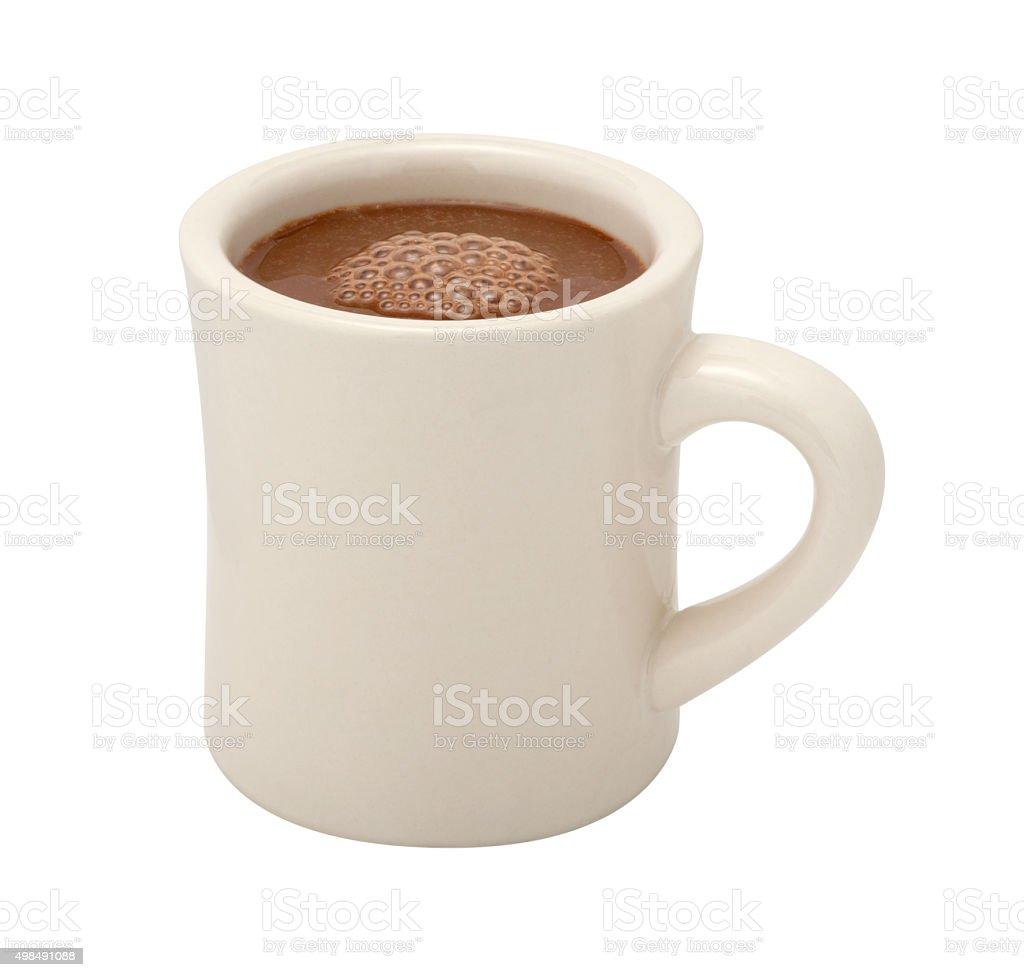 Hot Chocolate Mug isolated stock photo