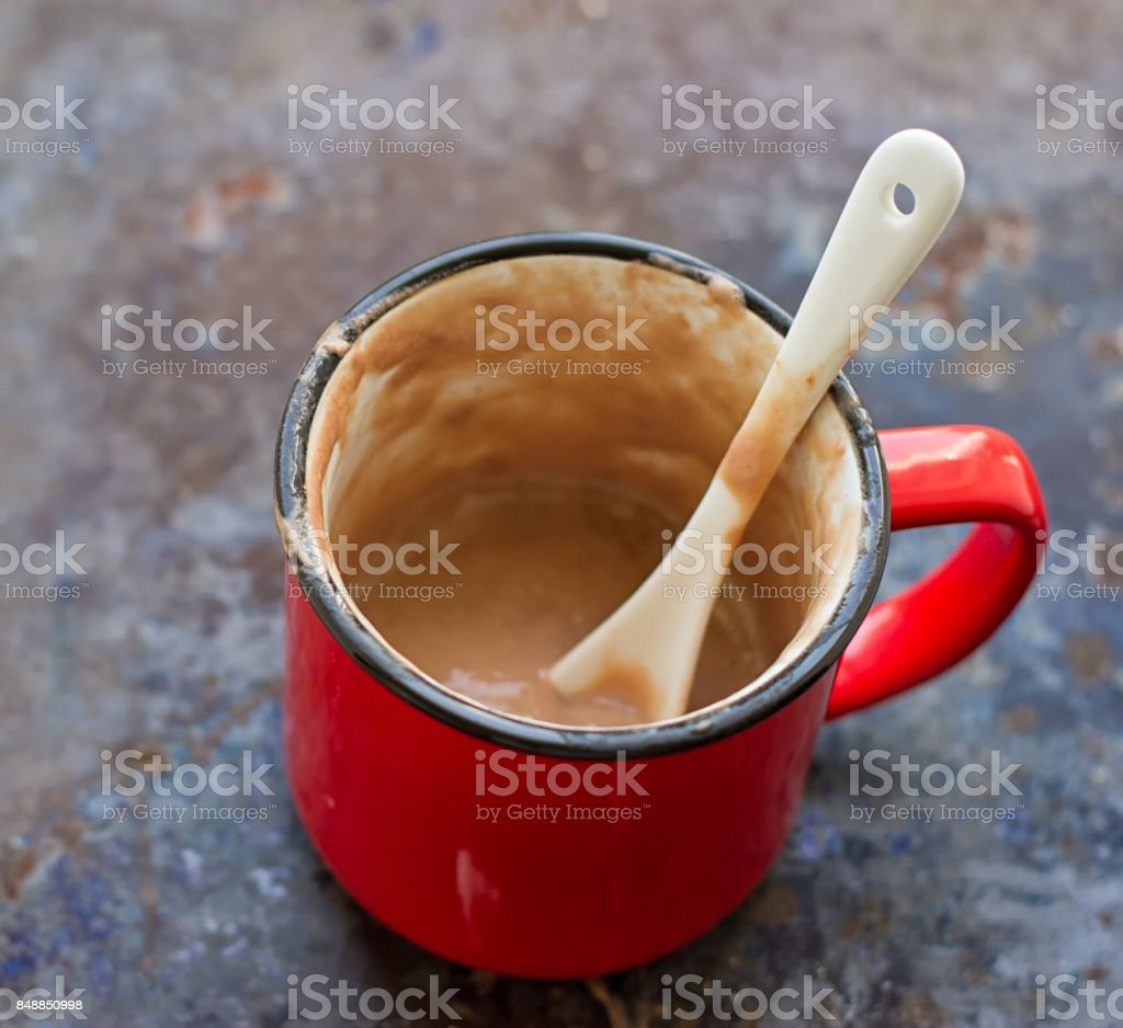 Hot Chocolate Mug stock photo
