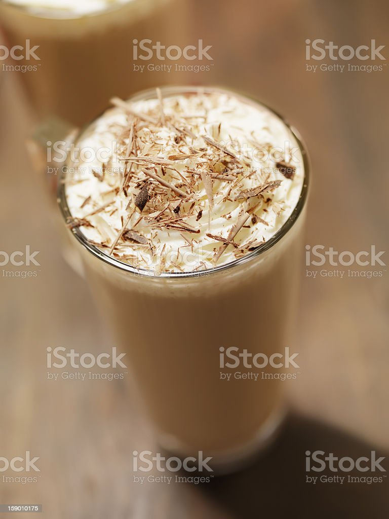 Hot Chocolate or Latte royalty-free stock photo