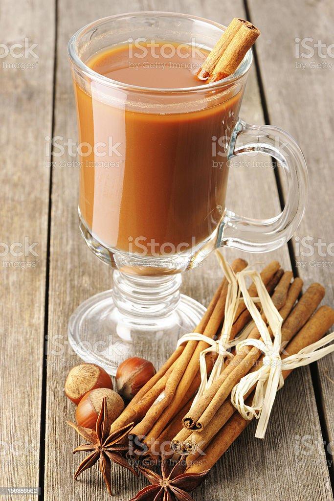Hot chocolate royalty-free stock photo