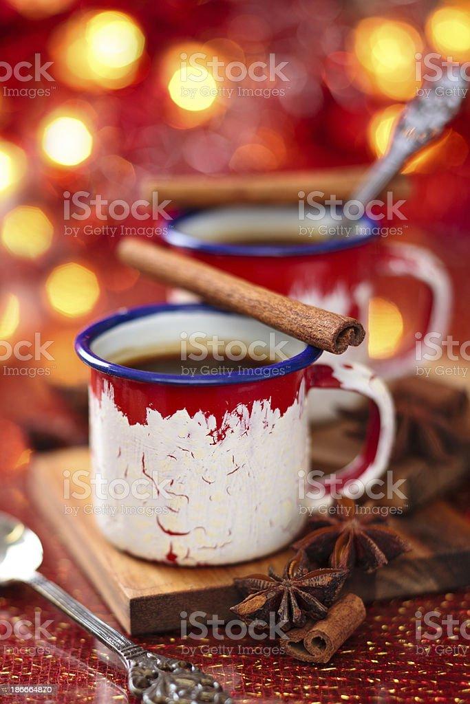 Hot chocolate. royalty-free stock photo