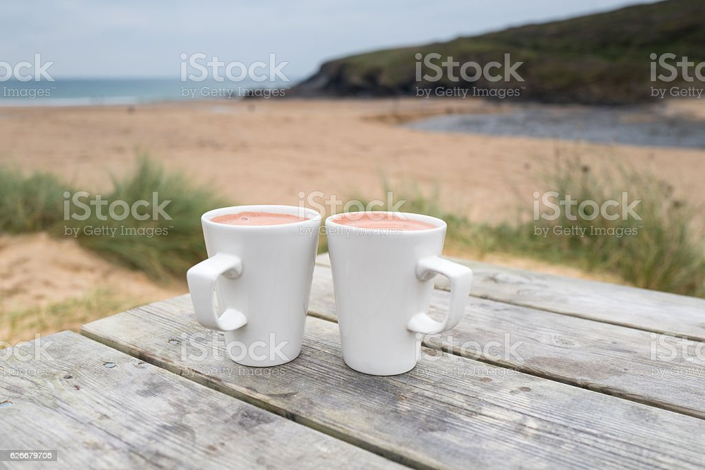 Hot Chocolate. stock photo