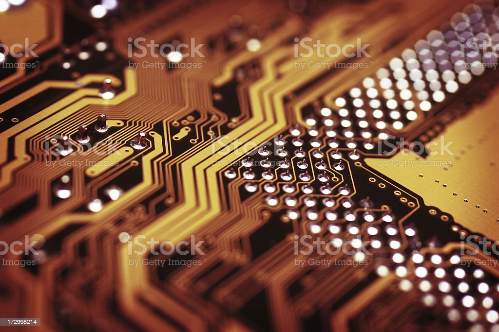 Hot Circuit royalty-free stock photo