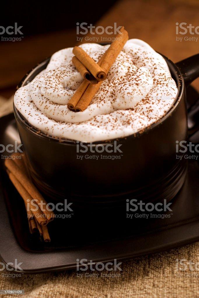 Hot cocoa royalty-free stock photo