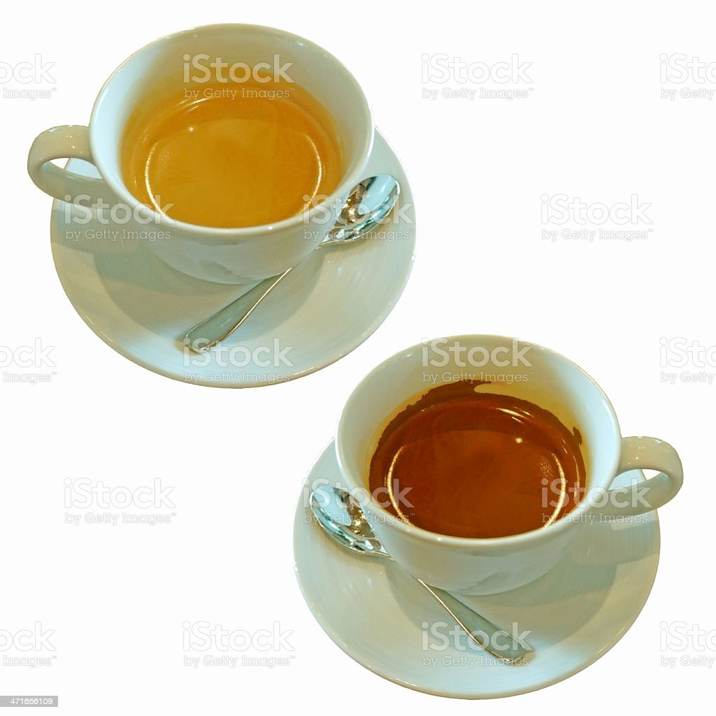 hot coffee and chocolate royalty-free stock photo