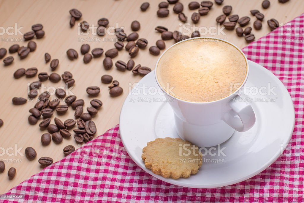 cafe caliente stock photo