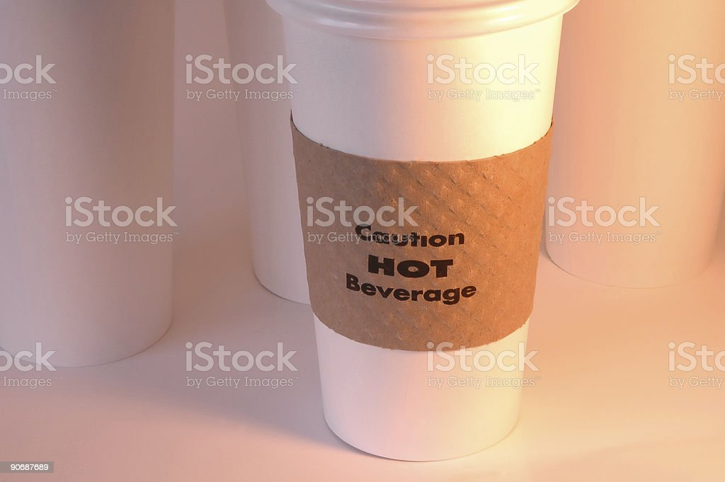 Hot Coffee To Go royalty-free stock photo