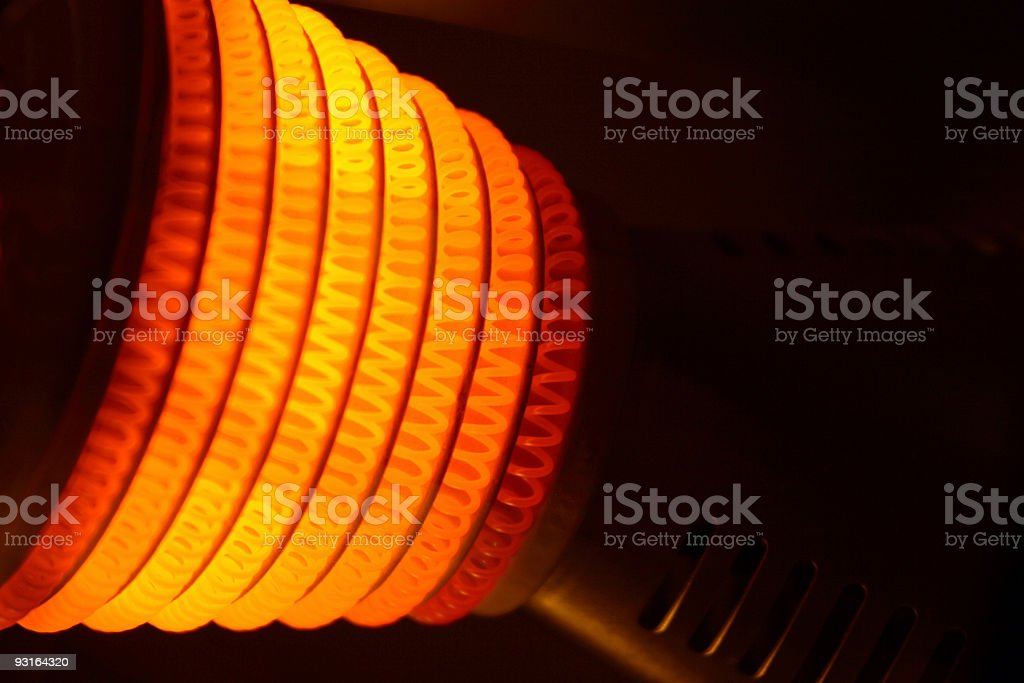 Hot Coil stock photo