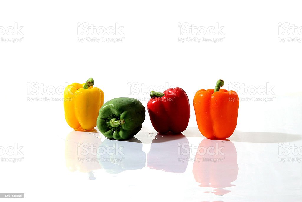 hot colorful capsicums 06 stock photo