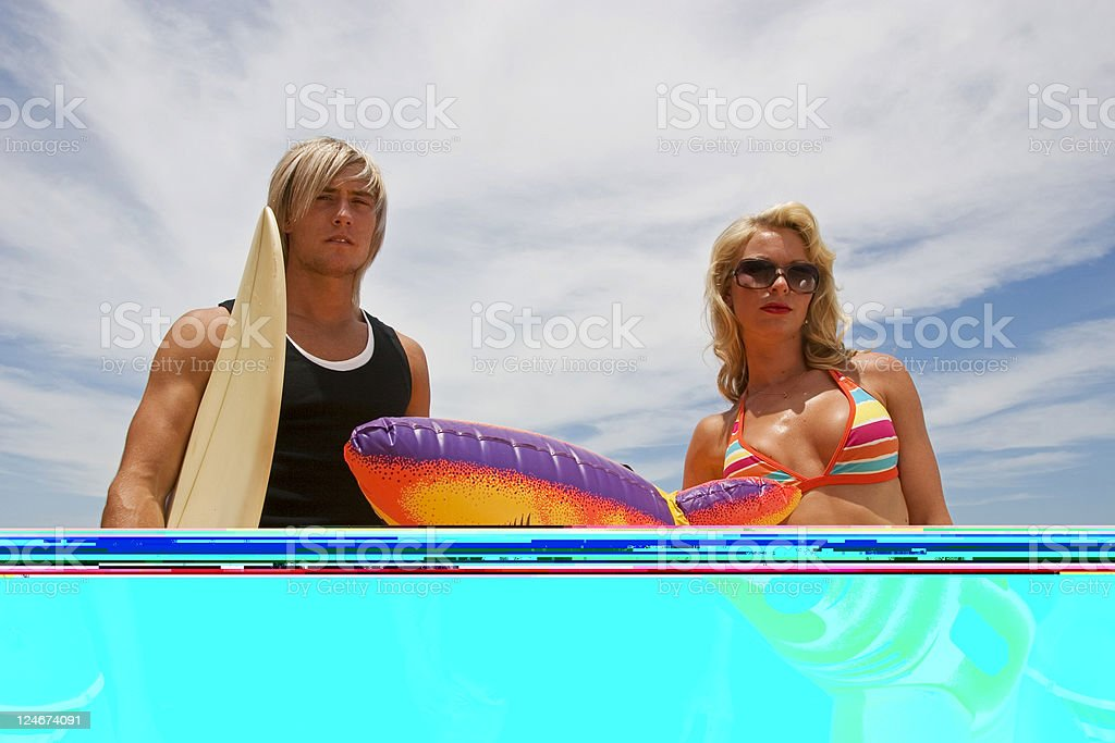 Hot Couple royalty-free stock photo