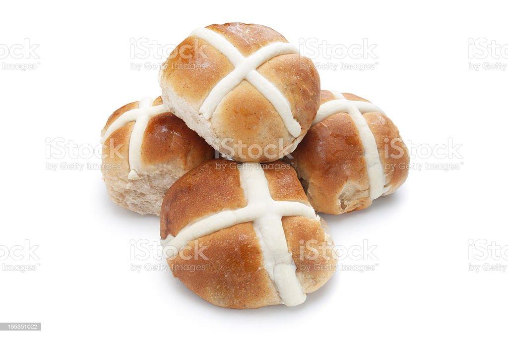 Hot Cross Buns stock photo