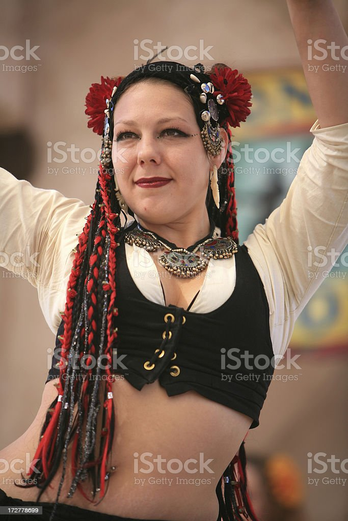 Ballerino di caldo foto stock royalty-free