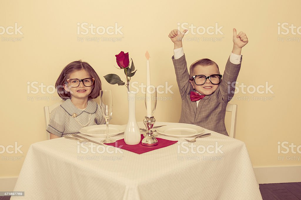 Hot Date stock photo