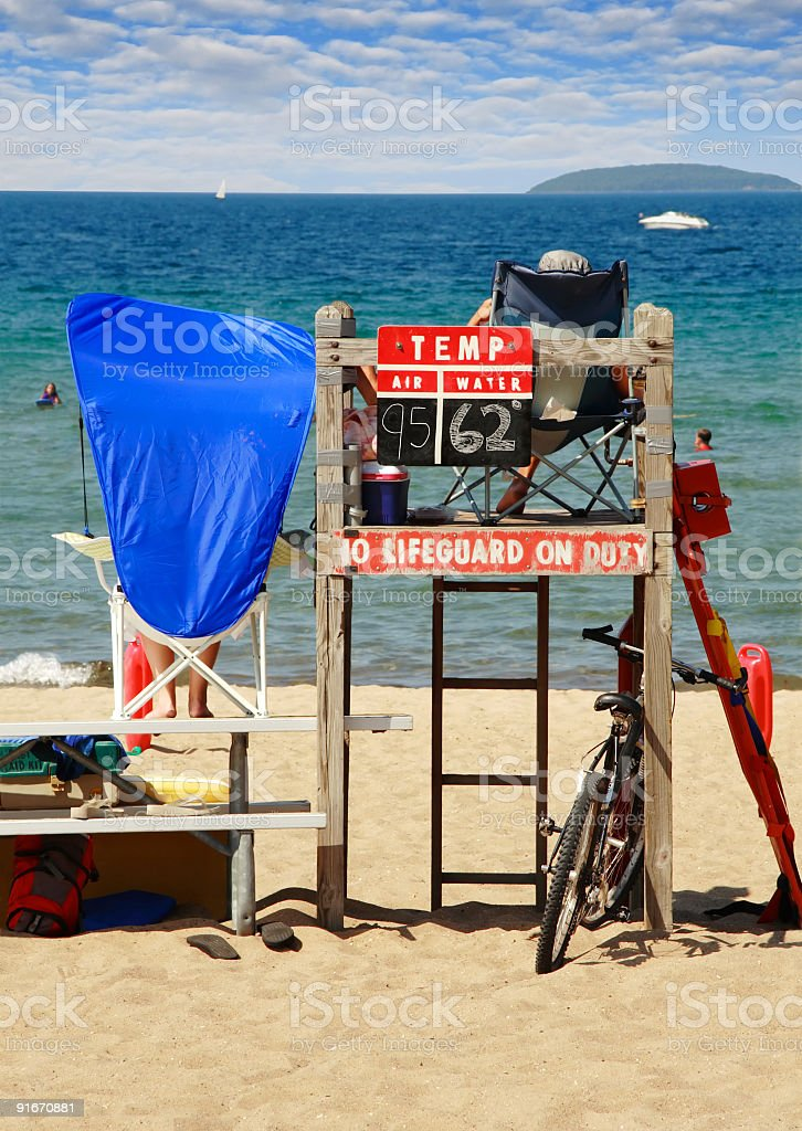 Hot day - cool water stock photo