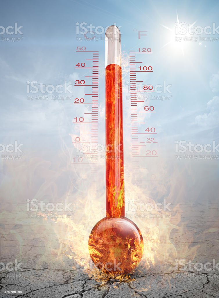 hot day stock photo