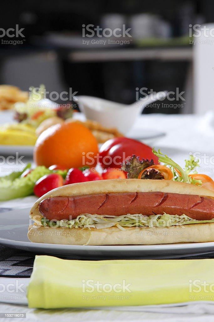 Hot Dog stock photo