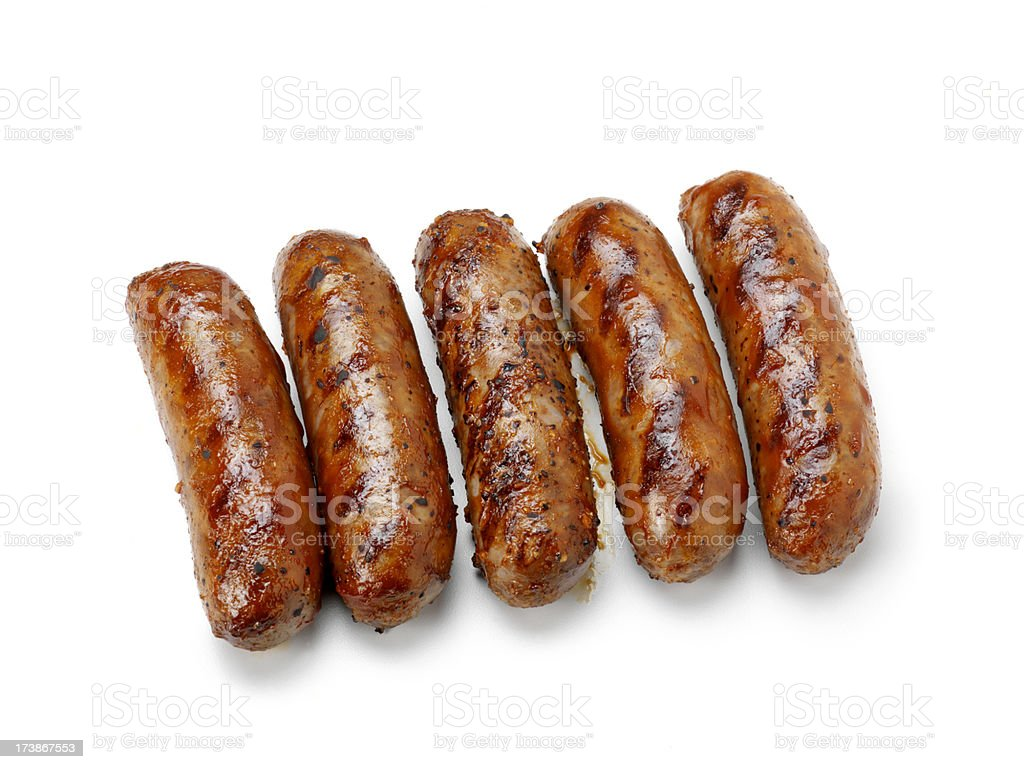 BBQ Hot Dogs royalty-free stock photo