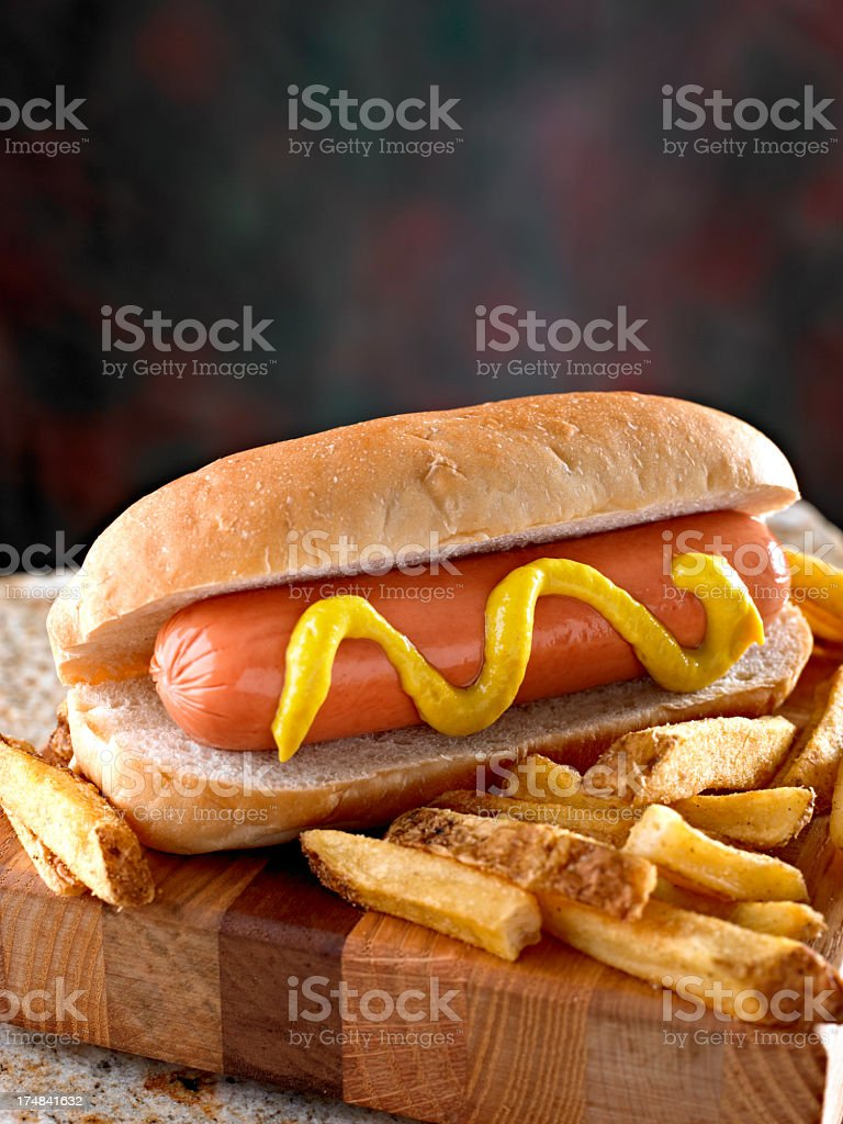 Hot Dogs. royalty-free stock photo